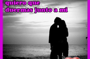 No quiero soñar contigo...