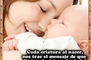 Cada criatura al nacer...