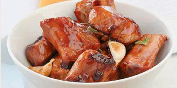 Costillitas de Cerdo en Salsa BBQ ahumada (deliciosas)