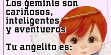 Ángel para los signo geminis