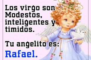 Ángel para los virgo