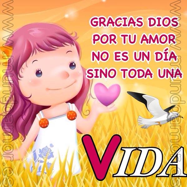 Gracias Dios por tu amor...