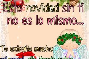 Esta Navidad sin ti
