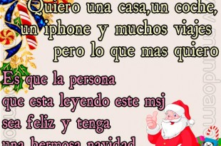 Querido Santa