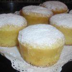 Muffins de leche condensada y chocolate blanco