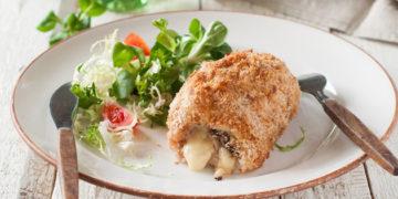 Receta de pechugas de pollo rellenas de queso