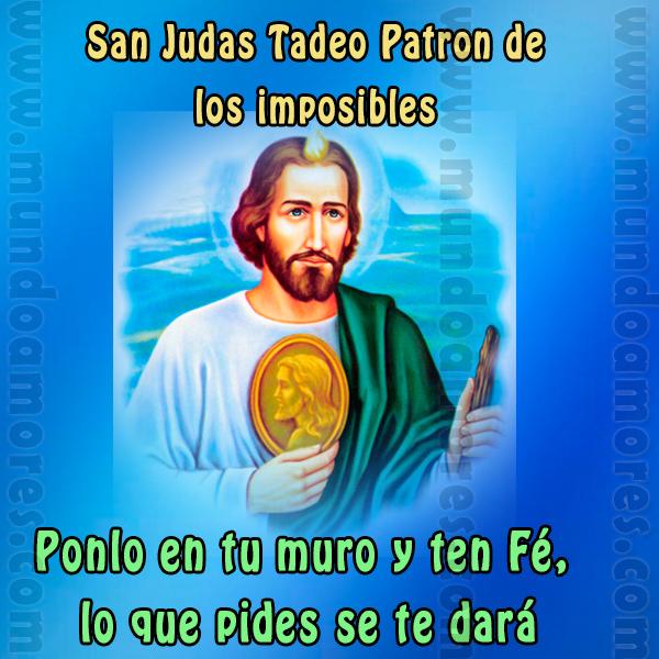 San Judas Tadeo Mundoamores