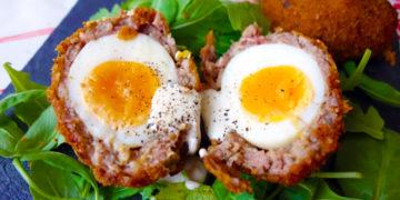 Receta de huevos escoceses