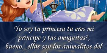 Yo soy tu princesa y tu eres mi príncipe