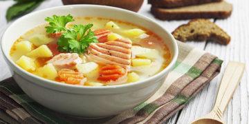 Receta de caldo de pescado casero