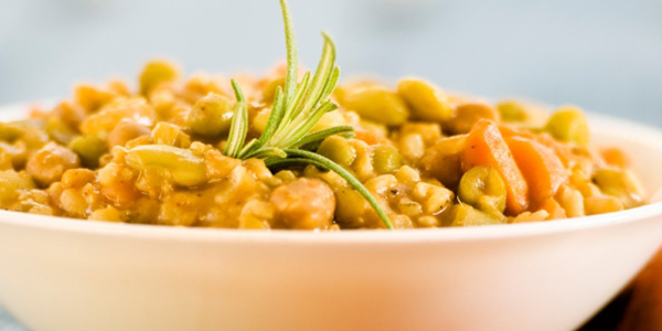Receta de lentejas al curry