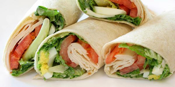 Receta de rollitos de queso y vegetales