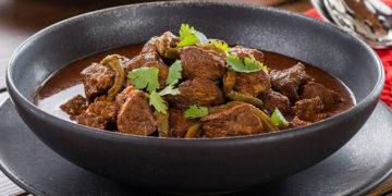 Receta de carne de puerco con nopales
