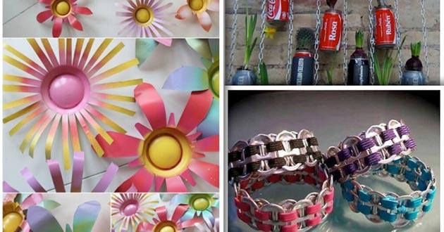 Reciclar latas de refrescos mundoamores - Reciclar latas de refresco ...