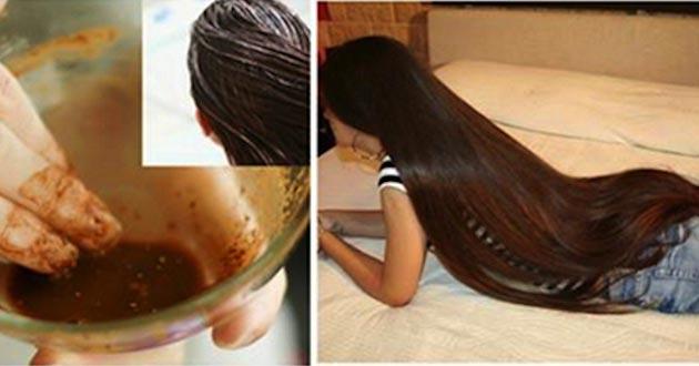 Increíble pócima para el crecimiento del pelo