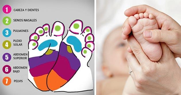 Cómo calmar los dolores de tu bebé con masajes
