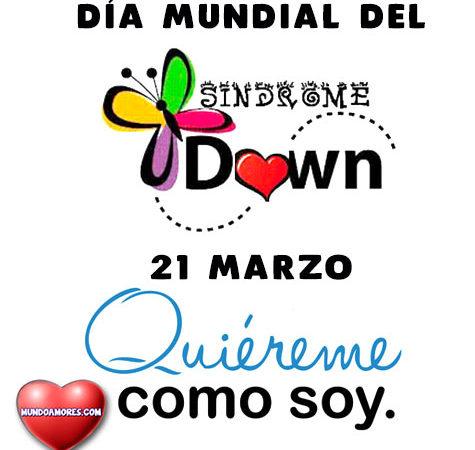 Día mundial del sindrome de down
