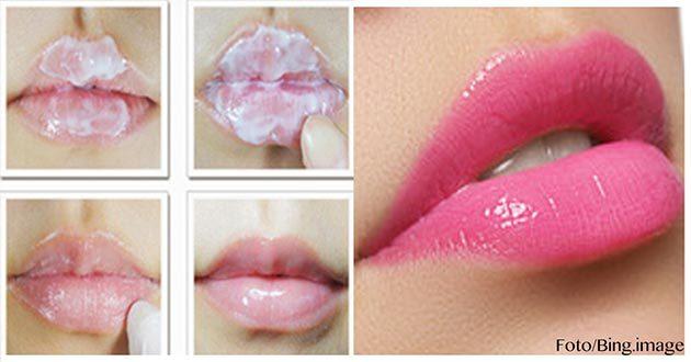 Cómo tener unos labios rosados
