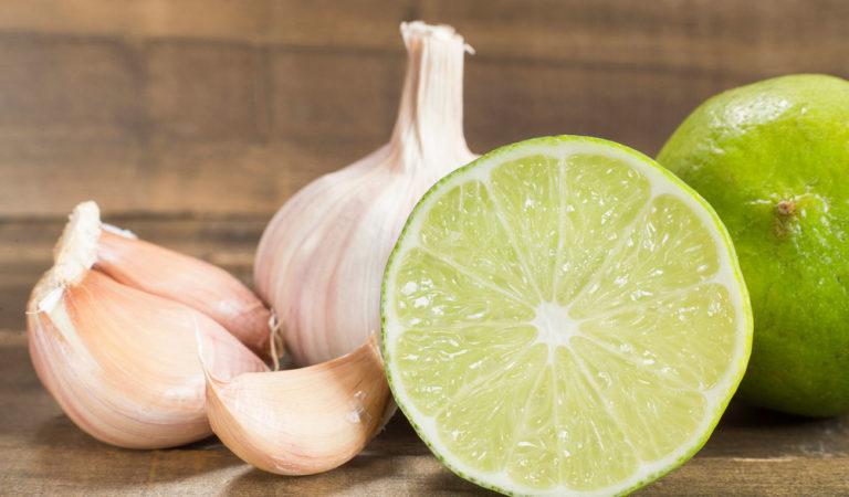 Pomada de ajo y limón para las várices
